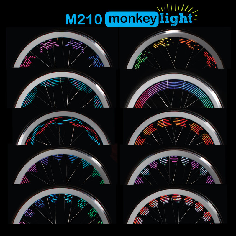 Monkey Light M210 pattern