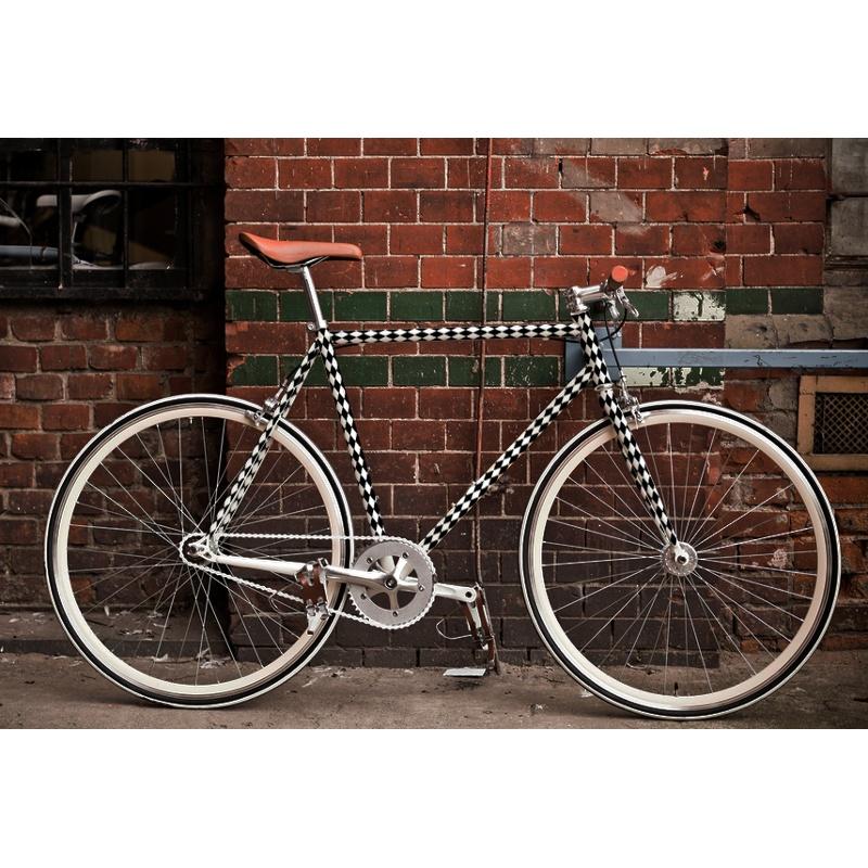 fahrrad folieren