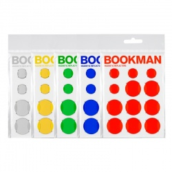 BOOKMAN Magnetic Reflectors (12 pcs.)