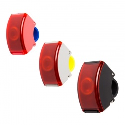 BOOKMAN Curve Rear Light 2 - Per USB aufladbares LED...