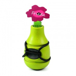 Bicycle Vase / Handlebar Vase Frieda (green)