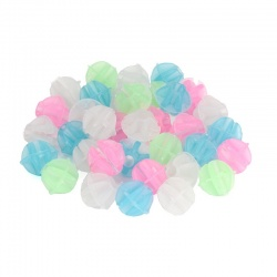 Glow in the Dark Bike Spoke Beads (ball-shaped, approax....