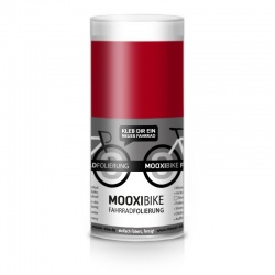 Mooxi-Bike Adhesive Bicycle Film Chili Red Glossy