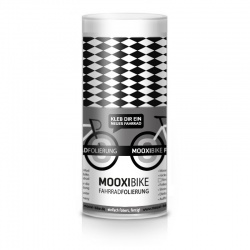 Mooxi-Bike Adhesive Bicycle Film Black and White Diamonds