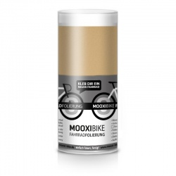 Mooxi-Bike Adhesive Bicycle Film Metallic Matt Gold