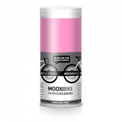"Mooxi-Bike Adhesive Bicycle Film ""Shiny Rosa"""