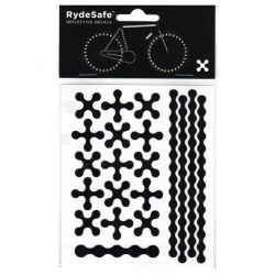 RydeSafe Reflective Bike Decals Modular - Black (Small)