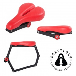 Seatylock Trekking - Ergonomic Saddle and Bike Lock in one