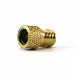 Valve Adapter (SV/DV-AV) - gold, Brass