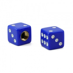 Valvecaps Dice (blue, 2 pcs.)