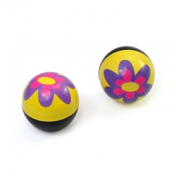 Valve Caps Flower Power (2 pcs.)