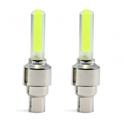 LED Valvecap Light with vibration sensor yellow (2 pcs.)