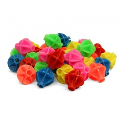 Ball-shaped Bike Spoke Clips / Beads (36 pcs.)