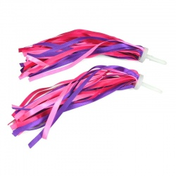 Satin Bike Streamer (pink/rose/purple)