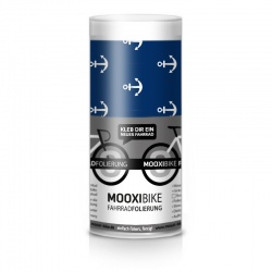 MooxiBike Adhesive Bicycle Film Anchor (blue)