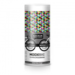 Mooxi-Bike Adhesive Bicycle Film Colorful Triangles