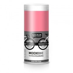 Mooxi-Bike Adhesive Bicycle Film Matt Hot Pink