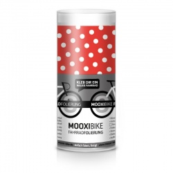 Mooxi-Bike Adhesive Bicycle Film Polka Dots (red)