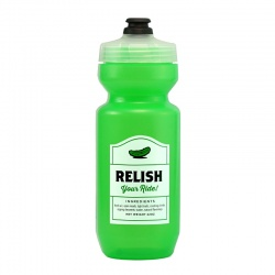 SPURCYCLE Water Bottle Relish (green)