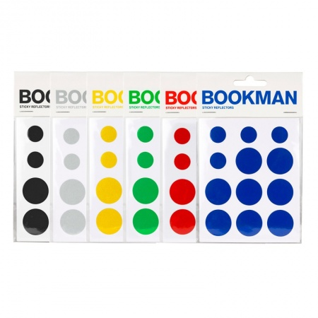 BOOKMAN Sticky Reflectors (12 pcs.)