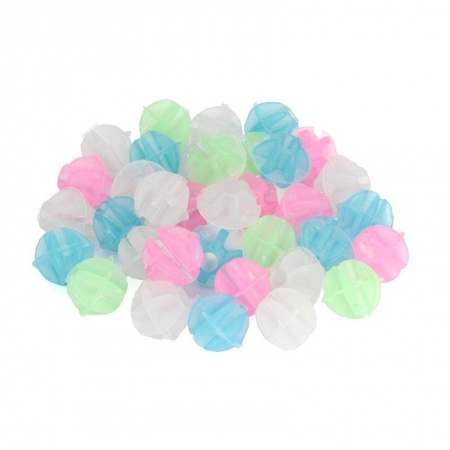 Glow in the Dark Bike Spoke Beads (ball-shaped, approax. 35 pcs.)