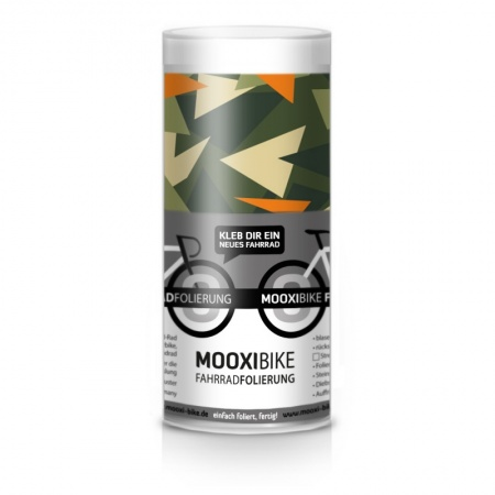Mooxi-Bike Adhesive Bicycle Film Camouflage Triangles