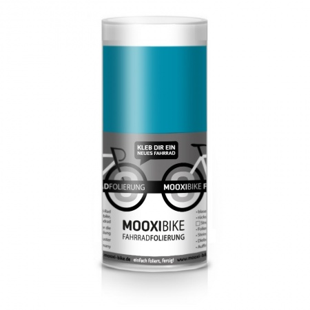 Mooxi-Bike Adhesive Bicycle Film Glossy Lagoon (greenblue / petrol)