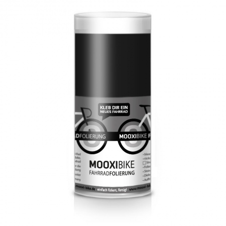 Mooxi-Bike Adhesive Bicycle Film Glossy Black