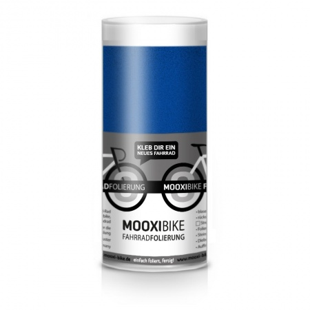 Mooxi-Bike Adhesive Bicycle Film Metallic Nightblue