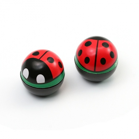 Valve Caps Lady Bug (2 pcs.)