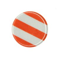 1x RoadSign (White/Orange)
