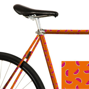 MooxiBike Fahrradfolie Happy Melons (orange / pink)
