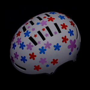 RydeSafe Reflective Bike Decals Flowers Kits -...