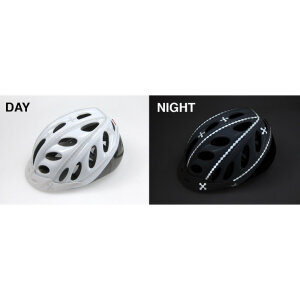 RydeSafe Reflective Bike Decals Modular Kits - LARGE -...