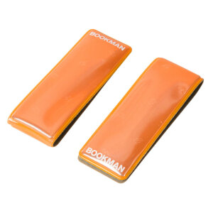 BOOKMAN Clip-on Reflectors - Tragbare Reflektoren (orange)