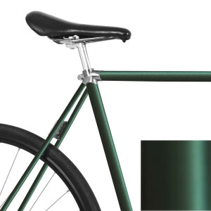 MOOXIBIKE Fahrradfolie Racing Green Metallic Matt