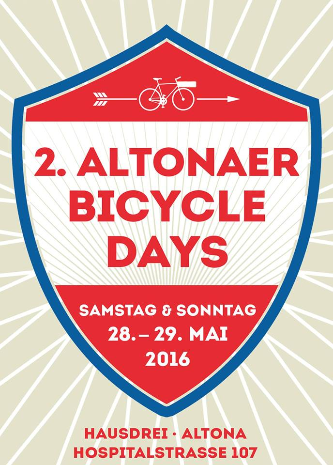 Altonaer Bicycle Days 2016 Flyer
