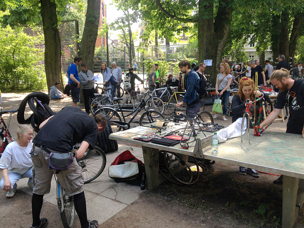 Altonaer Bicycle Days Fahrradflohmarkt