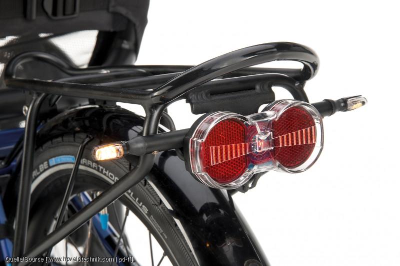 HP Velotechnik Fahrrad-Blinker WingBling