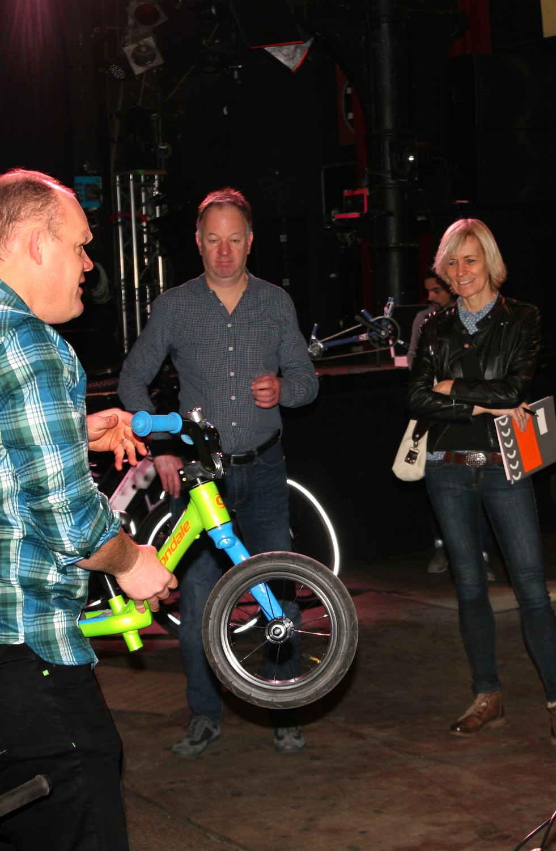 Gunnar Fehlau vom Pressedienst Fahrrad bei Veranstaltung