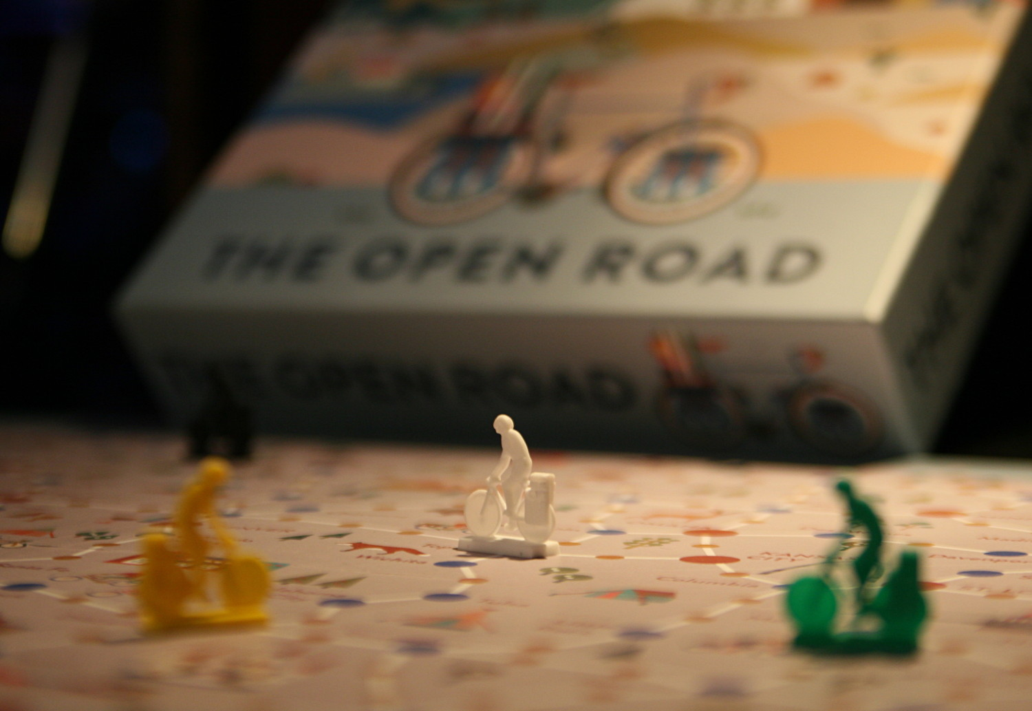 Brettspiel: The Open Road, Foto: Ronald Mencke (WLV)