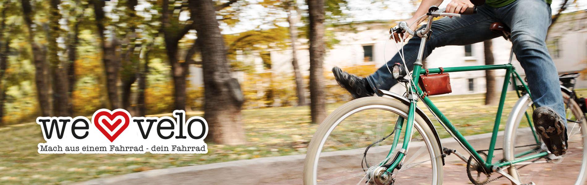 Mach aus einem Fahrrad - Dein Fahrrad!